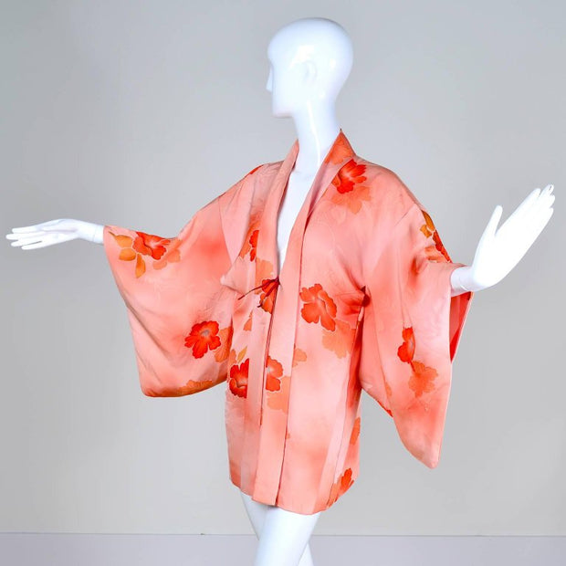 Haori Vintage Silk Kimono from the 1930's