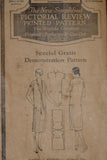 1920s Original Pattern for Vintage Dress New Simplified Pictorial Review 38