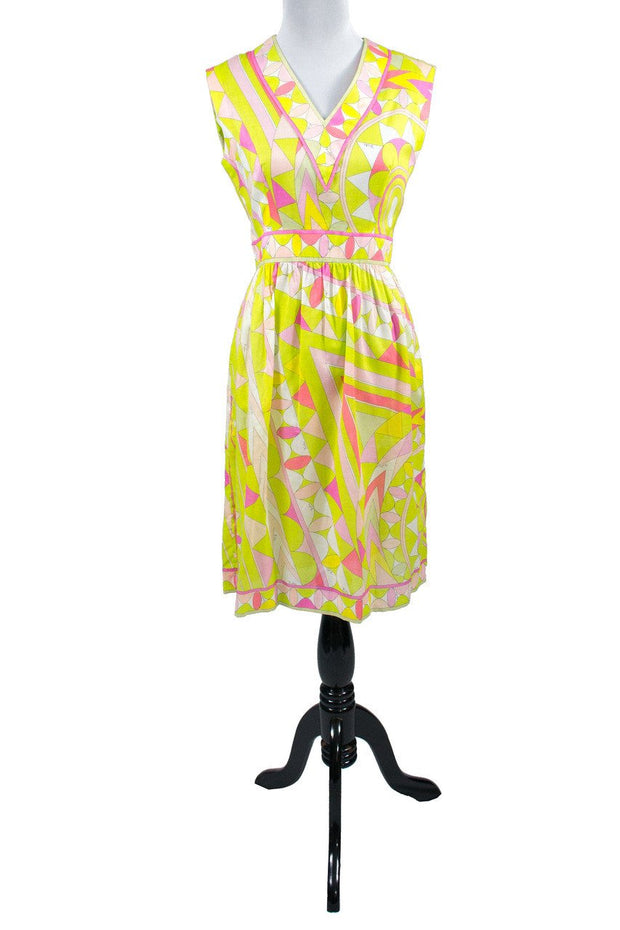 Cotton Pucci sun dress