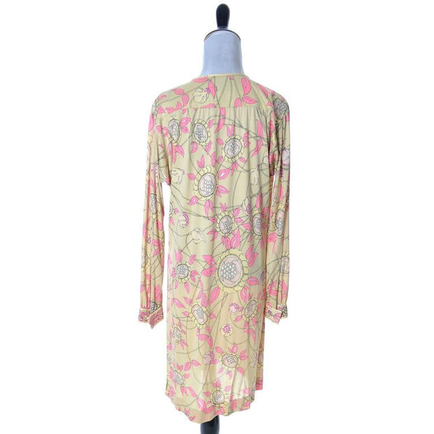 1970's silk jersey Pucci long sleeve dress