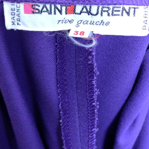Saint Laurent Rive Gauche 1980's Vintage Label