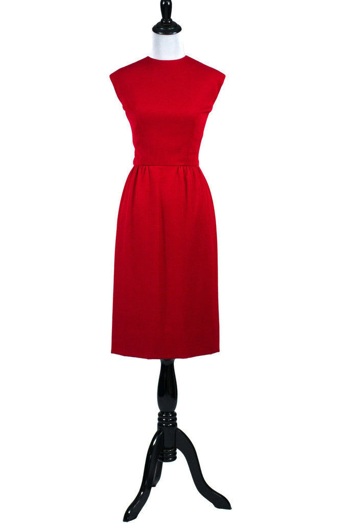 Vintage Red Christmas Dress