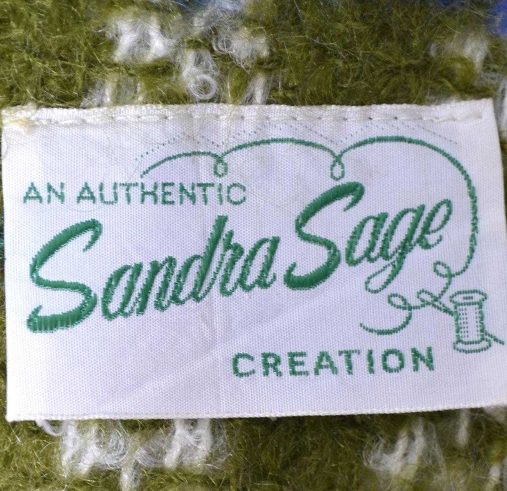 Sandra Sage Creation vintage coat