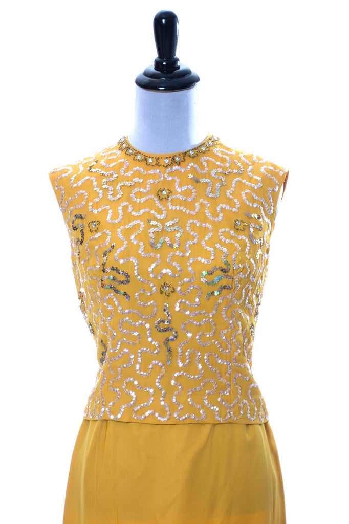 Sandra Sage 1960s coctail dress