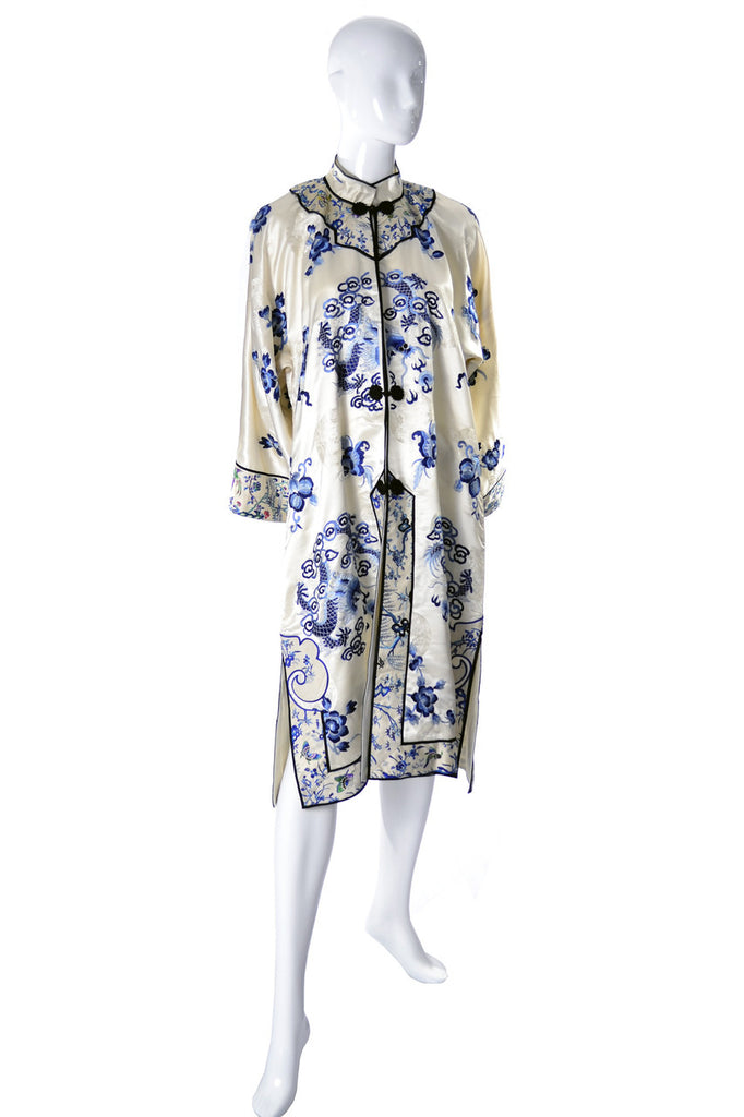 Chinese vintage silk robe