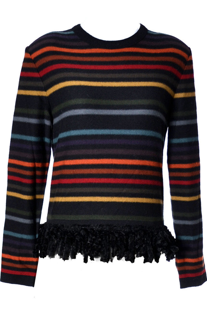 Sonia Rykiel vintage striped sweater 1980's - Dressing Vintage