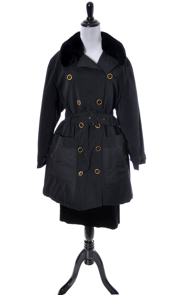 Sonia Rykiel vintage raincoat trench