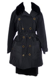 Designer Vintage Sonia Rykiel Paris Trench coat raincoat