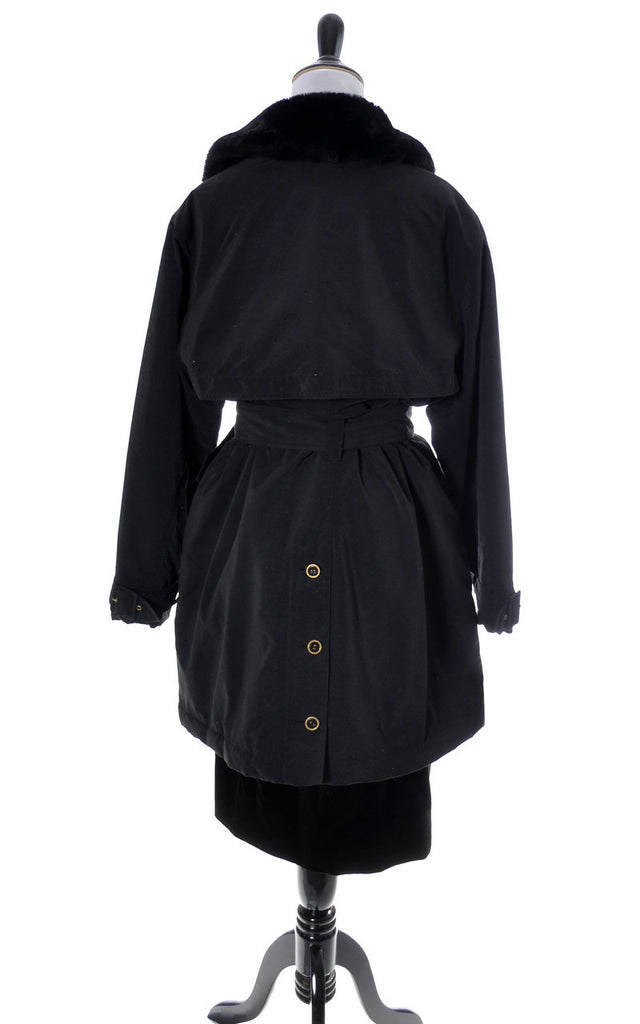 Vintage Sonia Rykiel trench raincoat