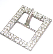 1930s Vintage Pave Rhinestone Sash or Belt Buckle Great for Wedding Dresses SOLD - Dressing Vintage