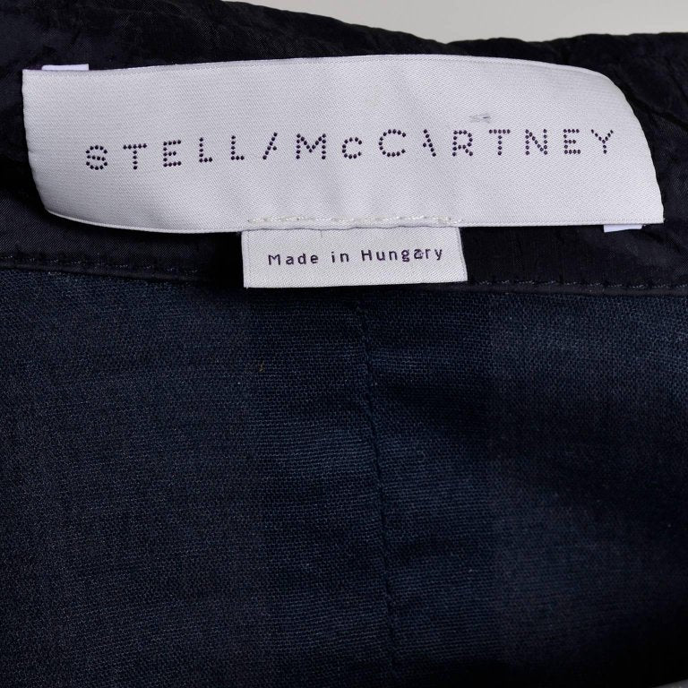 Stella McCartney jacket made in Hungary