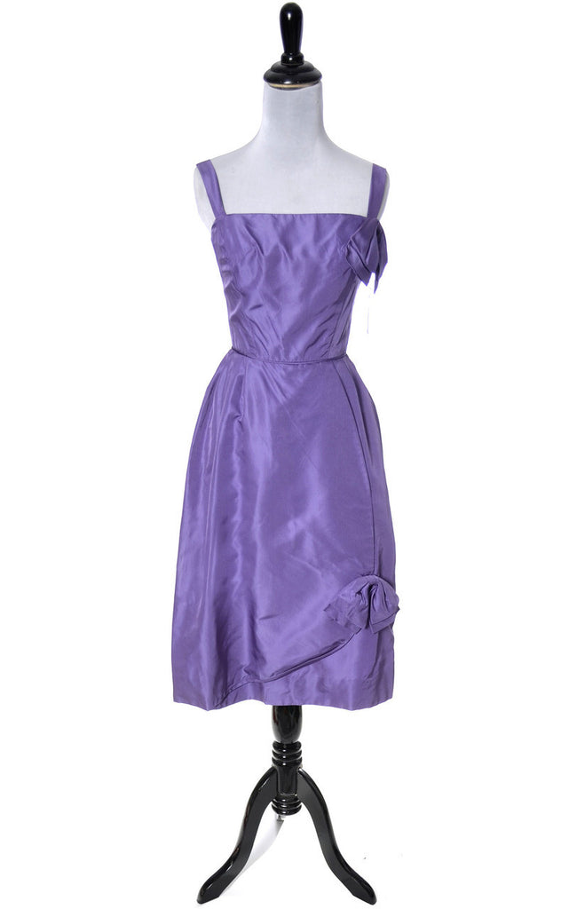 Purple 1960\'s vintage dress NEW with original tags deadstock ...