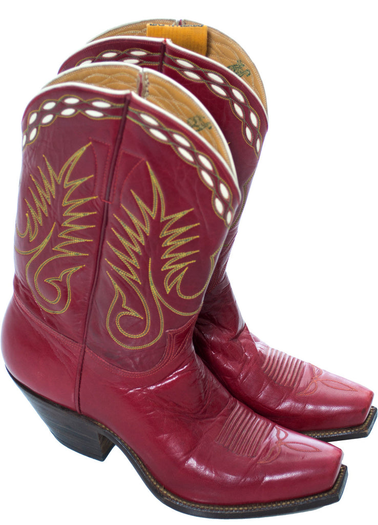 Stewart Romero Los Angeles vintage cowboy boots cowgirl