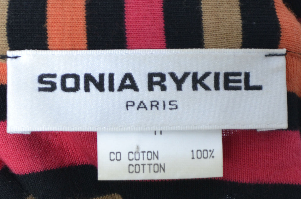 Sonia Rykiel Made in France vintage top stripes