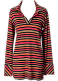 Sonia Rykiel Made in France vintage cotton striped top