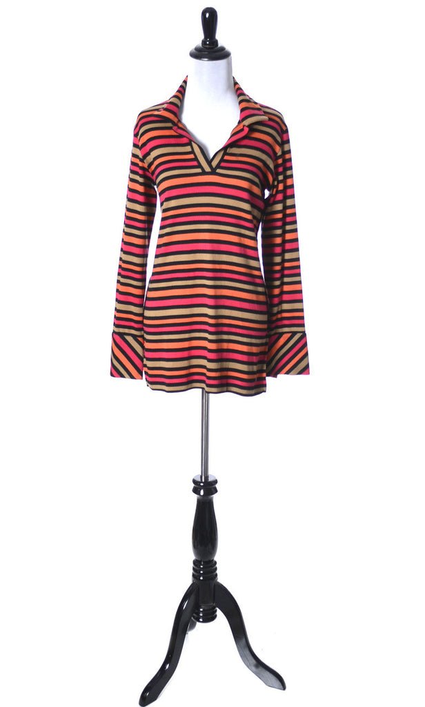 Sonia Rykiel stripe Made in France vintage top