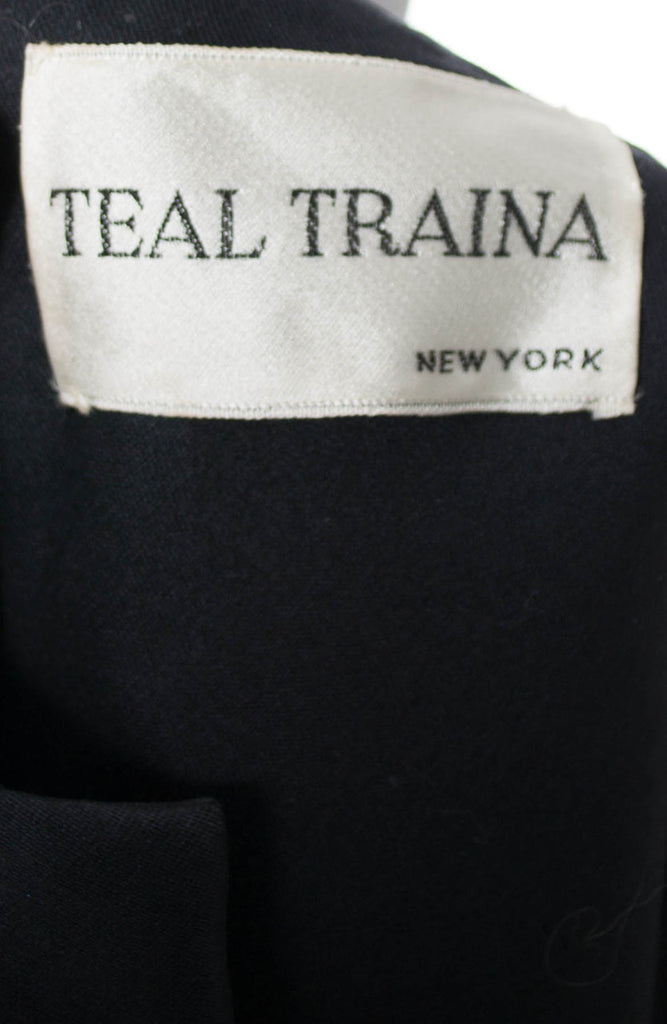 Black 1960s Bubble Dress From Teal Traina New York - Dressing Vintage