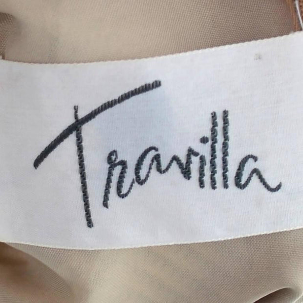 Travilla label on a 1970's vintage dress