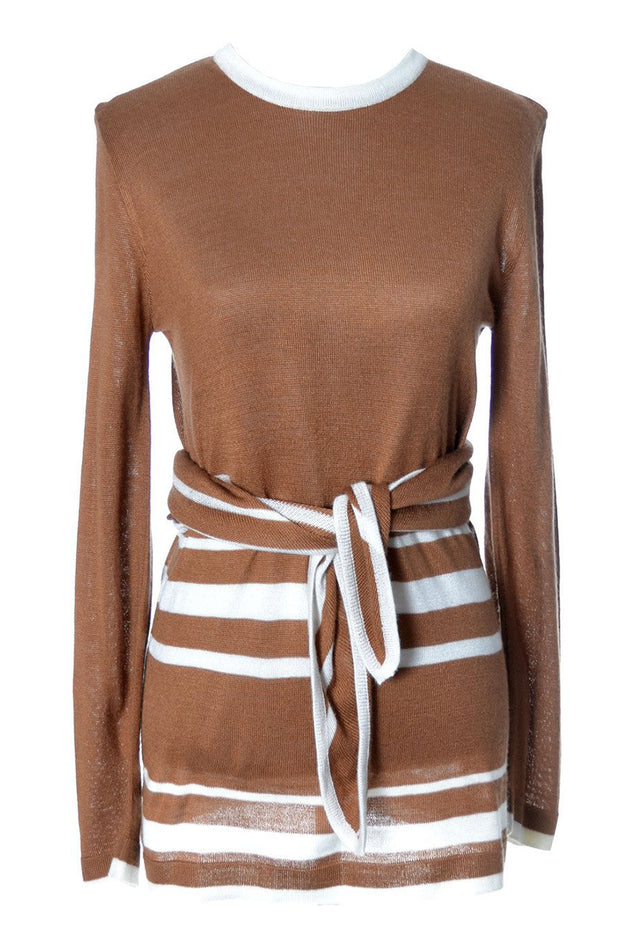 1970's Copper Brown Vintage Valentino Sweater | Dressing Vintage