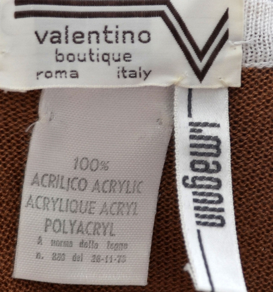 Valentino Boutique Roma Italy I Magnin vintage sweater
