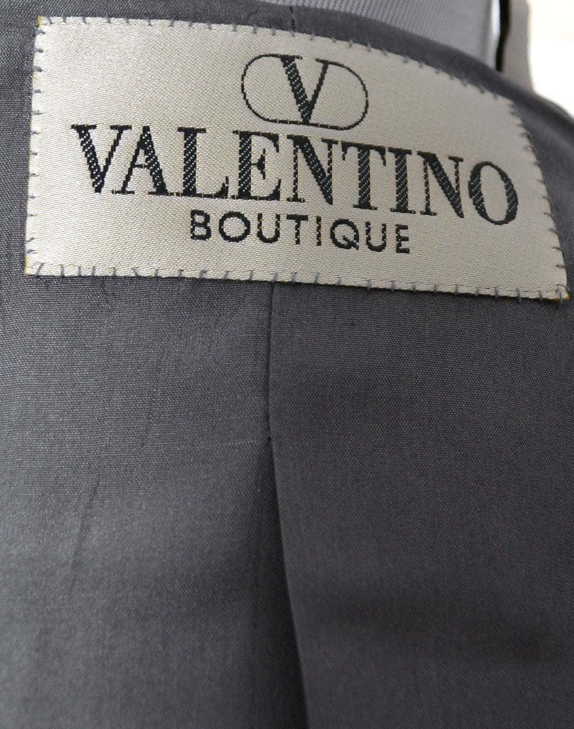 Vintage Valentino Chanel style suit chain