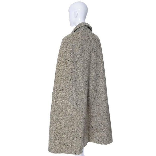 Mid Century tweed cape and matching skirt