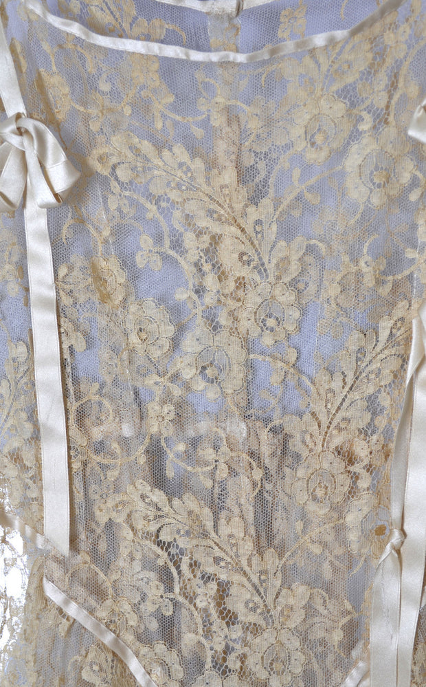 Vera West Vintage Nightgown Silk & Lace