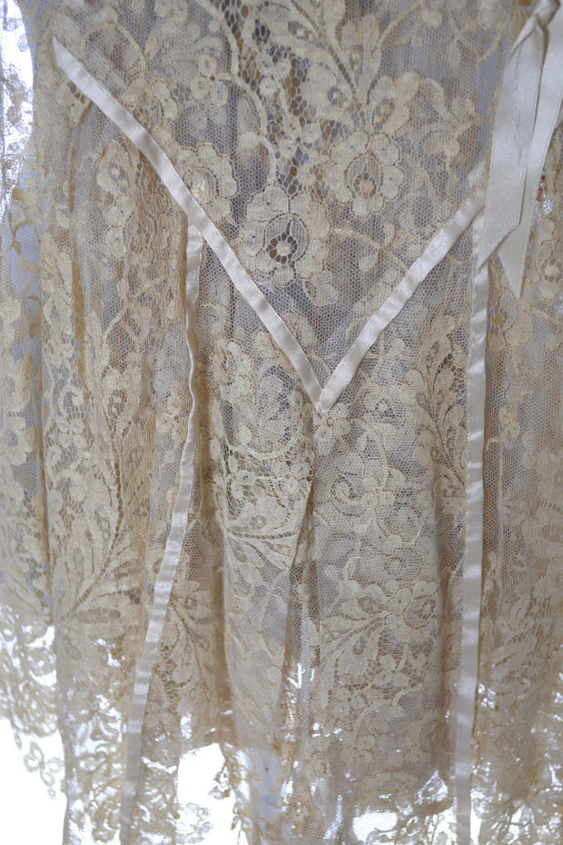 1920s Nightgown Vera West Designer