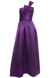 Victoria Royal purple evening gown