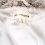 Vintage Fox Fur and Rabbit Fur Zip Front Vest Hong Kong