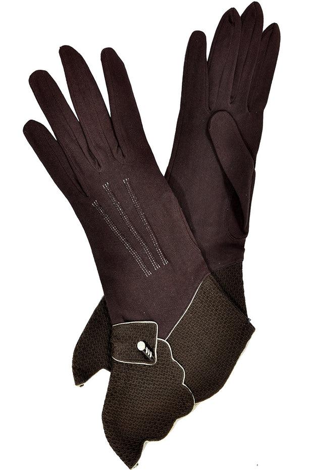 German Vintage Gauntlet Gloves 7.5