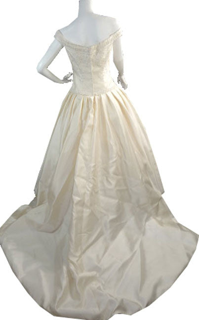 vintage wedding dress Christos New york