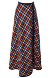 long wool Pendleton Knockabouts vintage maxi skirt