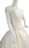 Christos New York vintage wedding dress