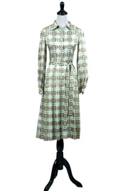 Chester Weinberg Silk Dress and Coat Suit Ensemble SOLD - Dressing Vintage