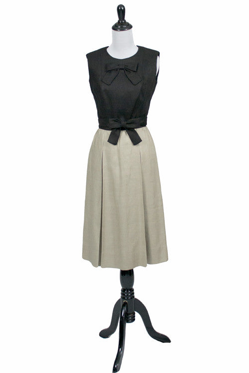 Donald Brooks vintage dress 1960s mint conditoin