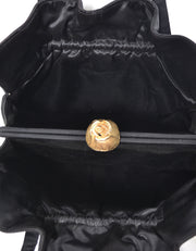 1950's Ingber Vintage Handbag with Gold Rose Clasp Made in USA - Dressing Vintage