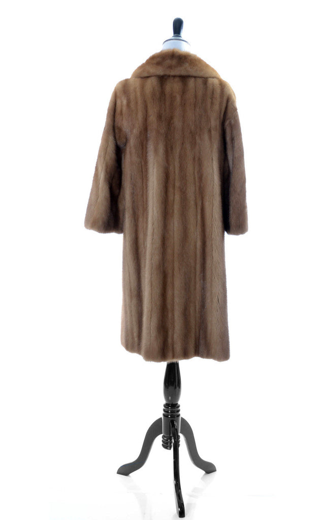 Vintage Colburn's Los Angeles mink coat