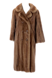 Colburn's Los Angeles Full Length Vintage Mink Coat - Dressing Vintage