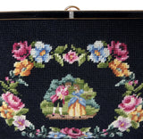 vintage needlepoint handbag