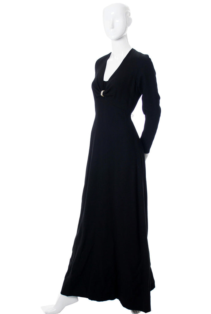 Nina Ricci vintage black dress