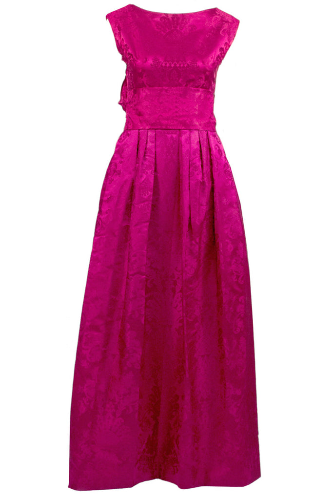 Vintage 1950s evening gown