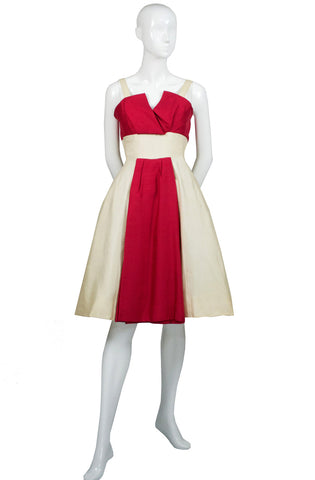 Jacques Heim vintage dress 1950s