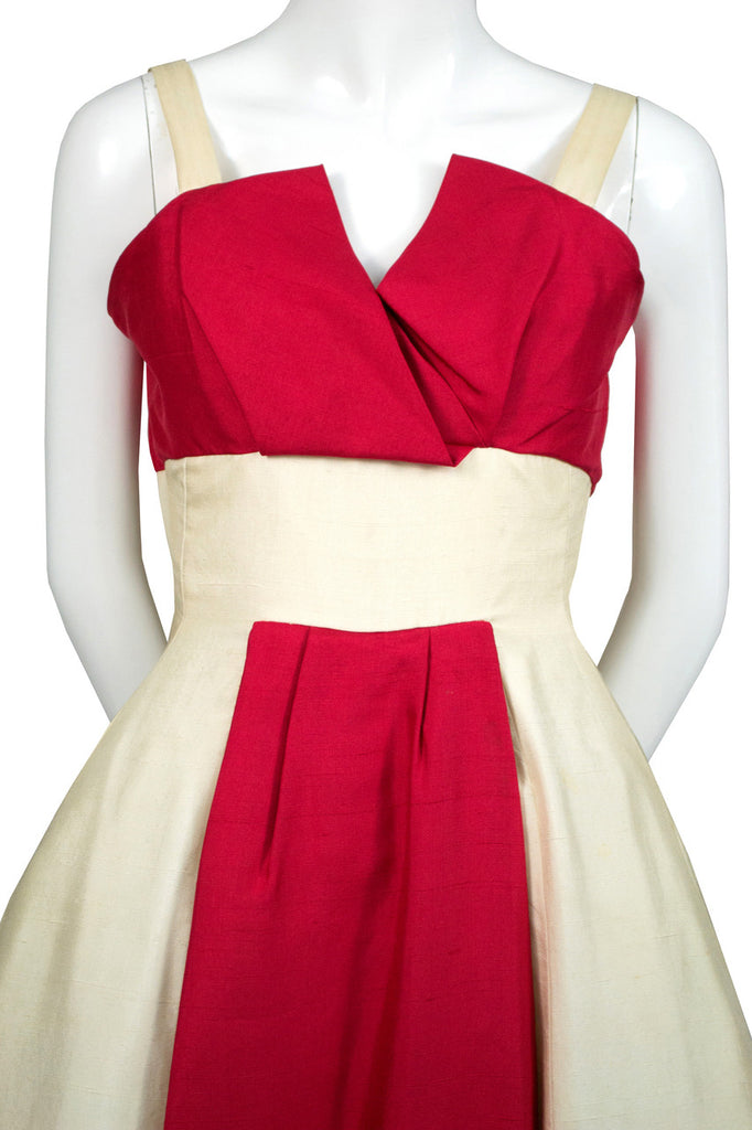 1950s Jacques Heim vintage designer dress