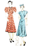 Superior Pattern 351 Sears Roebuck 1930s vintage dress and bolero 36B - Dressing Vintage