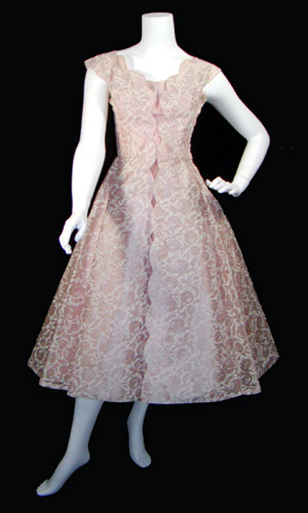 Lorie Deb vintage dress 1950s pink perfection SOLD - Dressing Vintage