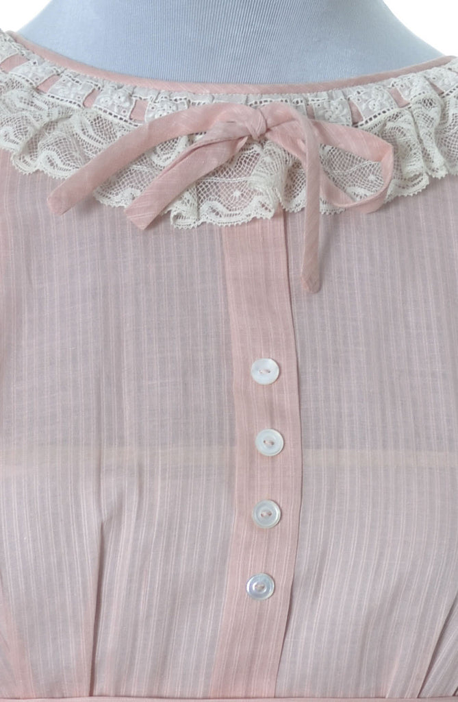 Vintage Nathan Krauskopf girl's pink dress