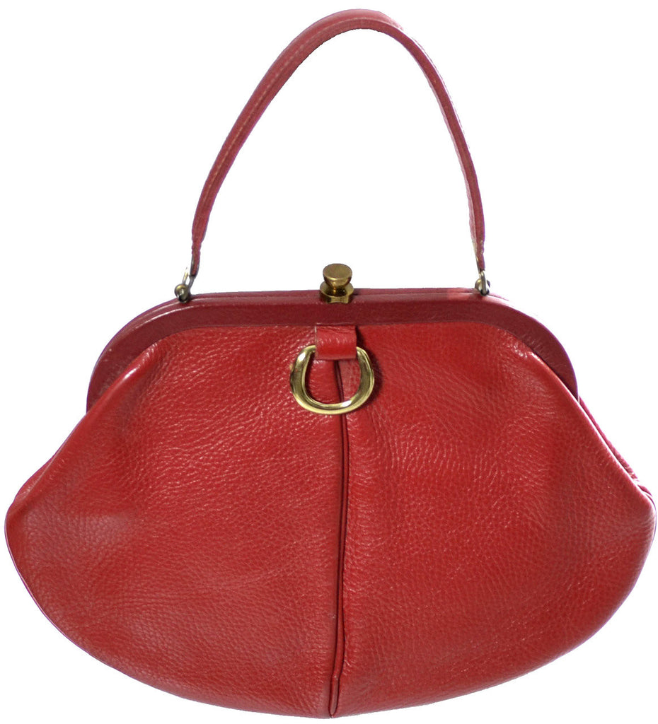 Roger Van S vintage handbag red purse