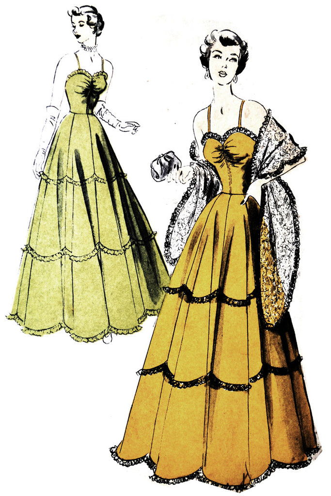 vintage pattern advance 5048