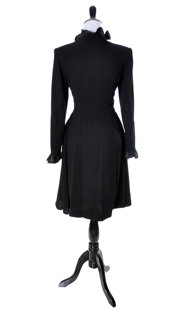 Valentino vintage black dress